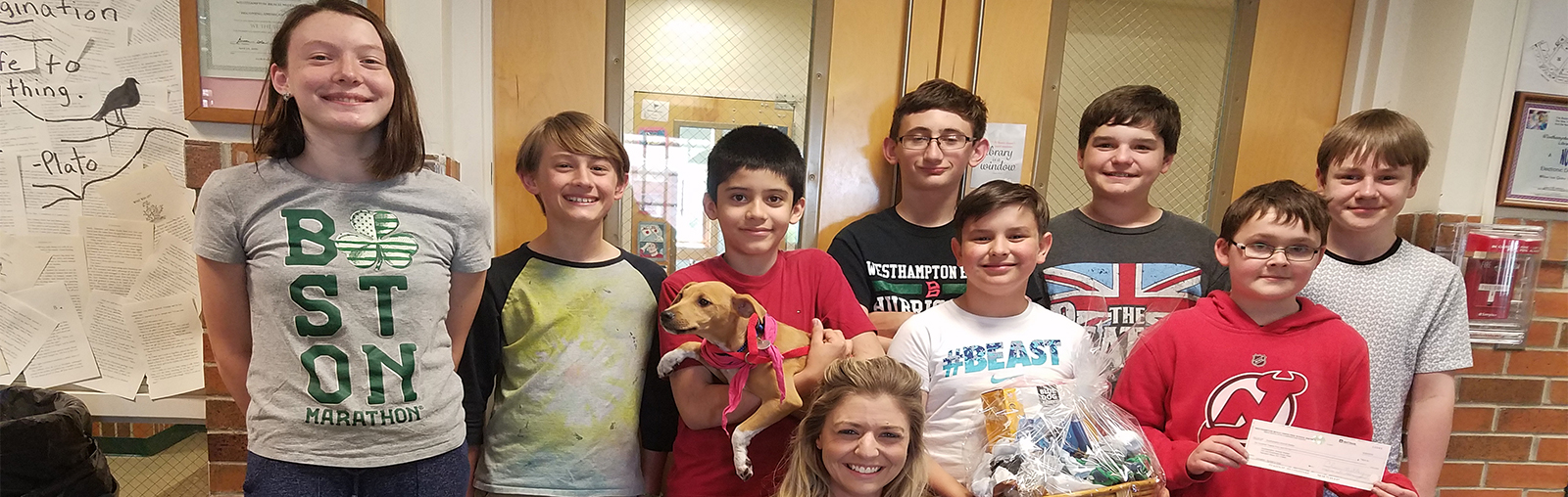 Builders Club donates to Southampton Animal Shelter photo