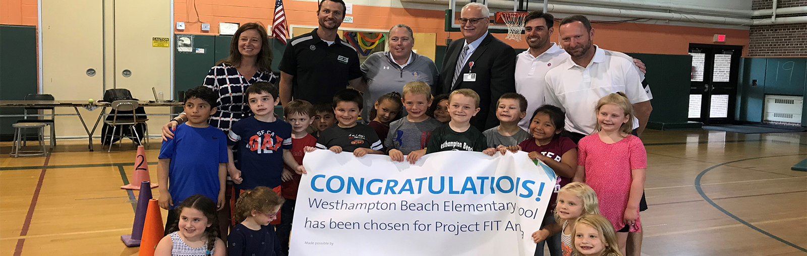 Westhampton Beach Wins Fitness Grant
