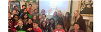 Skype call with Jane Goodall photo