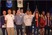Students Entering the Military Honored at Ceremony photo 2