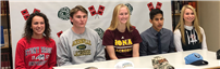 Students sign with colleges