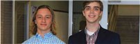 School Board Honors Valedictorian and Salutatorian